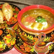 Russian cuisine history