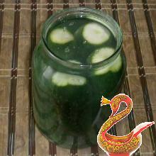 Russian recipe pickled cucumbers with citric acid