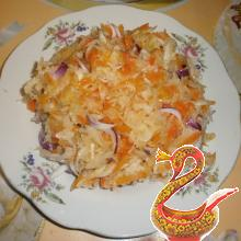 Russian pickled cabbage kvashenaya kapusta