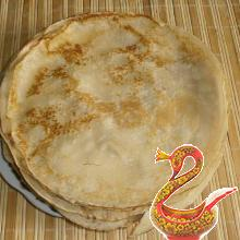 Russian thin pancakes - bliny