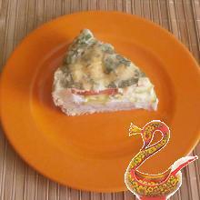 Russian zucchini pie