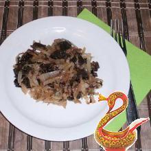 Тушеная капуста с грибами рецепт