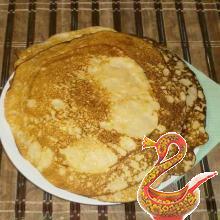 Potato pancakes Russian bliny