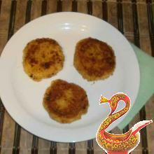 Potato cutlets Russian recipe