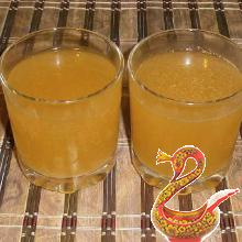 Kvass at home from rye bread