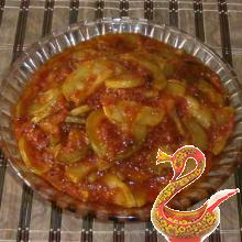 Zucchini in tomato sauce recipe with photos