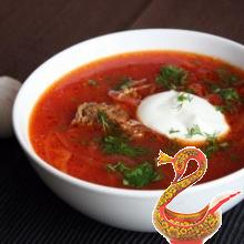 Recipe for russian borscht