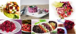 "The history of Russian beet salad ""Vinaigrette"""