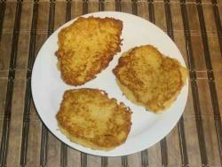 our potato pancakes are ready