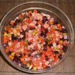 """Russian beet salad """"Vinaigrette"""""""