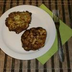 Pumpkin fritters recipe with a photo