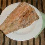 Easy Russian recipe baked coho salmon