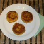 Potato cutlets Russian recipe