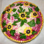 Russian Shuba salad - herring salad recipe